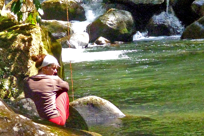 Albergue El Socorro Reservat Baden im Fluss