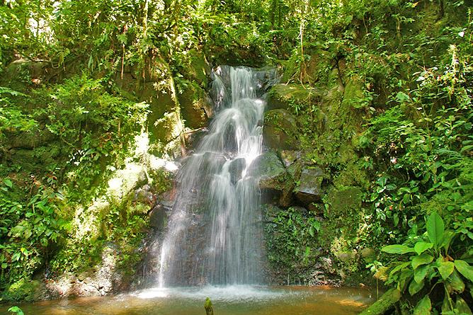 Albergue El Socorro Reservat Wasserfall