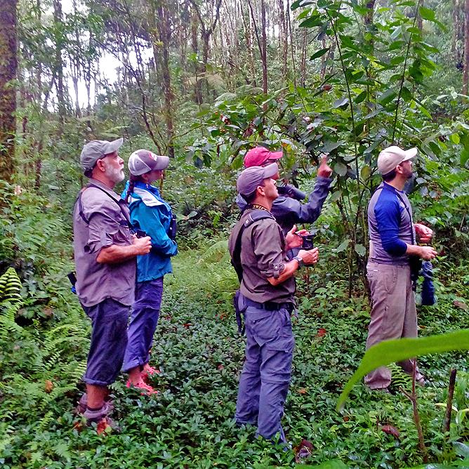 Albergue El Socorro Wandern Naturbeobachtung