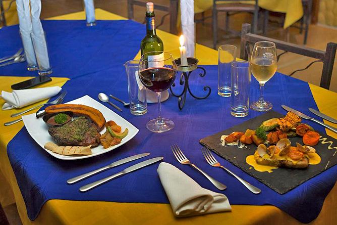 Ara Ambigua Restaurant Dinner