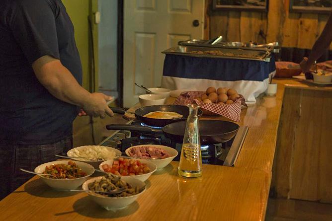 Ara Ambigua Restaurant Frühstück