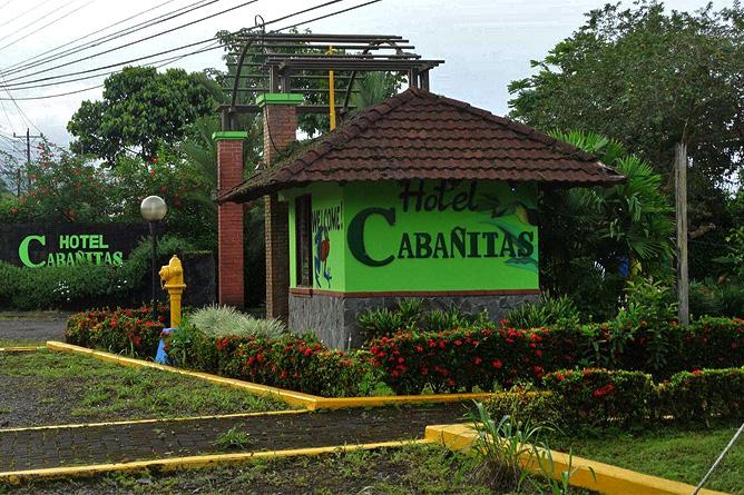 Cabanitas Arenal Einfahrt