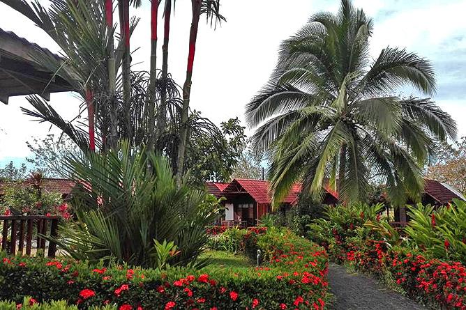 Cabanitas Arenal Hotelanlage