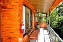 Cabinas El Pueblo Standard Zimmer Terrassenbereich