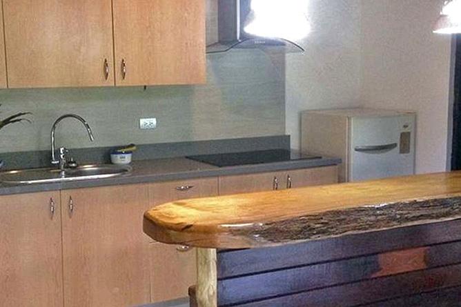 Cariblue Jungle Familien Haus Küche