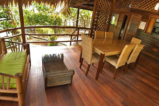 Cariblue Jungle Familien Haus Terrasse