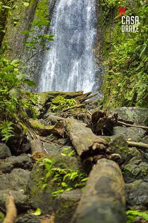 Casa Drake Wasserfall
