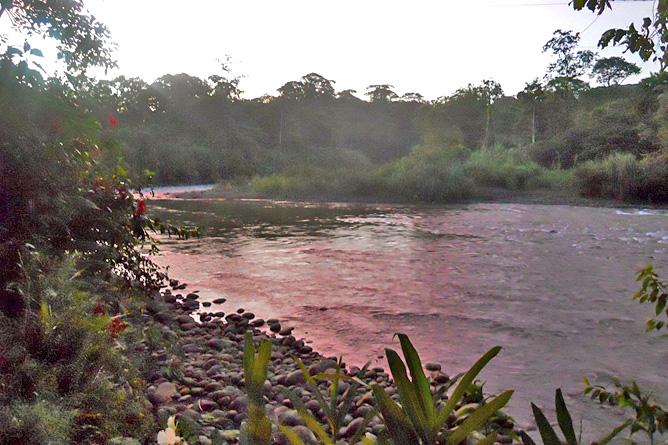 Chilamate Sarapiqui Fluss
