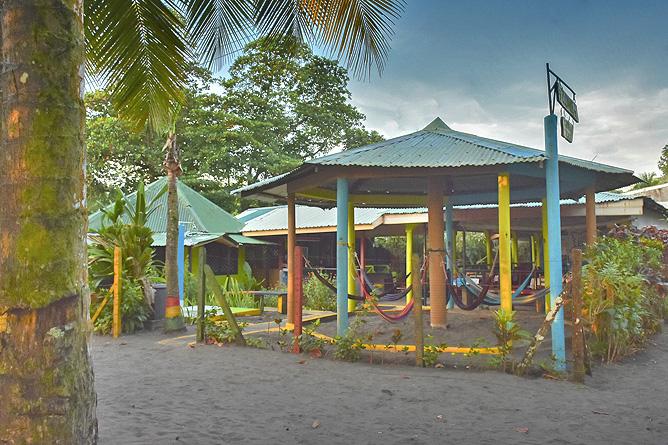 El Icaco Zugang vom Strand