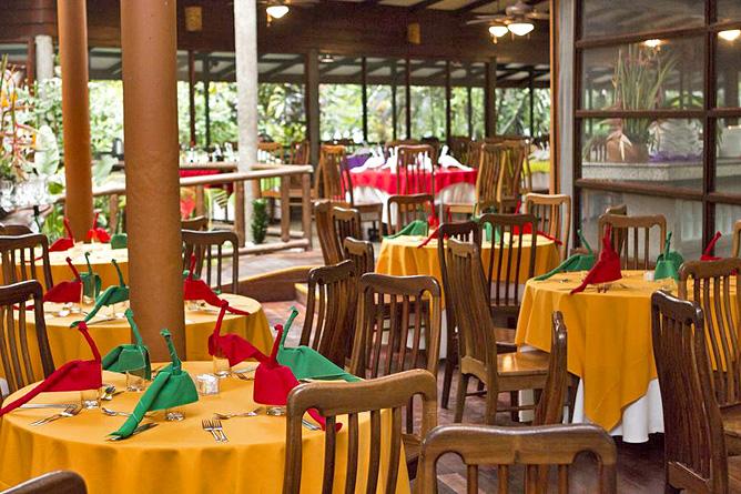 Pachira Lodge – Restaurant