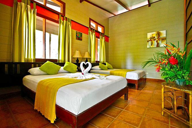 Pachira Lodge – Standard Zimmer Doppelbetten