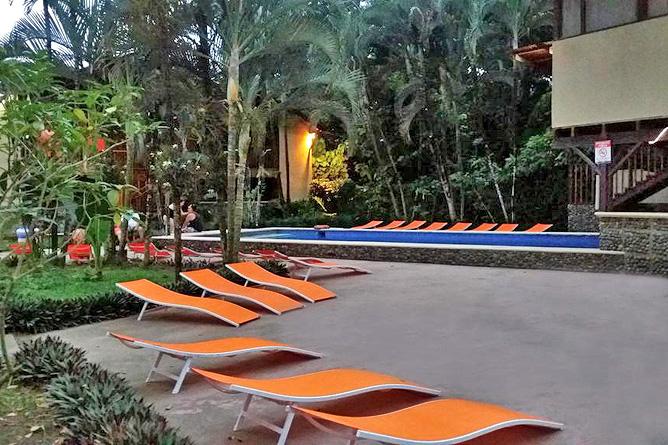 Perla Negra Poolbereich
