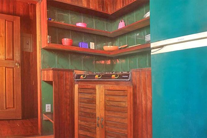 Perla Negra Strandhaus 1 Küche