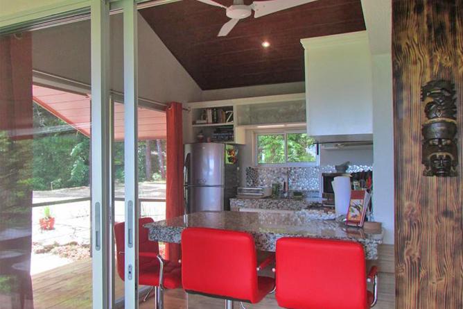 Portasol Rainforest Ocean View Living Casa Aracari Küche