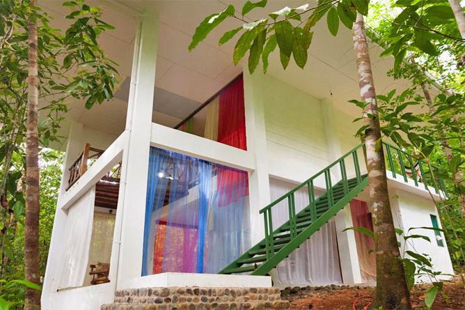 Portasol Rainforest Ocean View Living Casa Colibri Aussenansicht