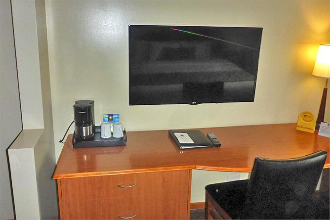 Sleep Inn Standard Zimmer Fernsehen