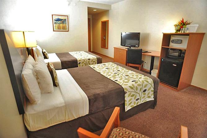 Sleep Inn Standard Zimmer Queen Betten