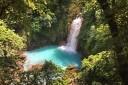 Sueños Celeste Rio Celeste Wasserfälle