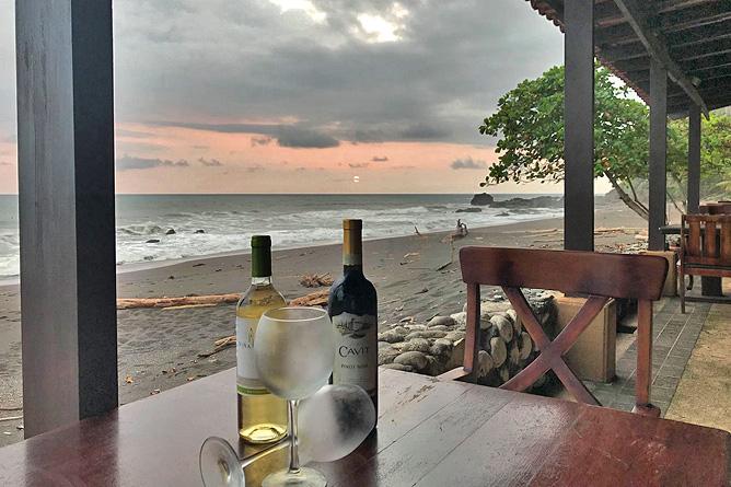 Terazza del Pazifico Restaurant und Bar Wein