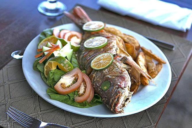 Terazza del Pazifico Restaurant Fisch