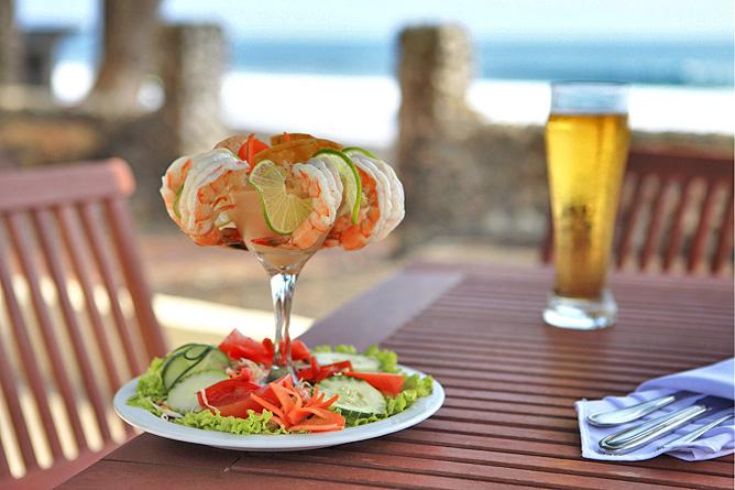 Terazza del Pazifico Restaurant Shrimp Tempura