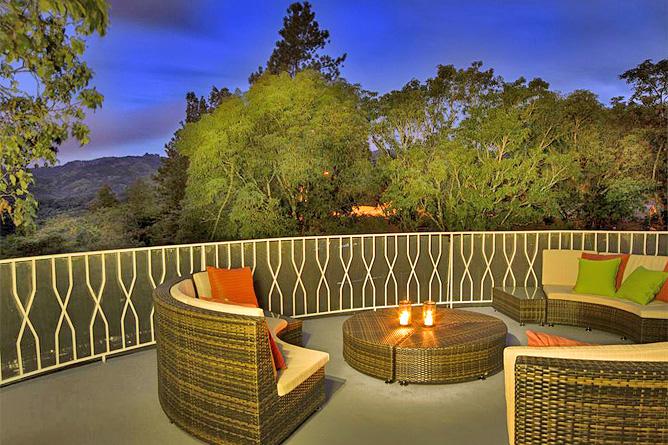 Villa Colon Hotel Terrasse