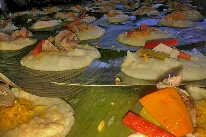 Weihnachten Costa Rica Tamales Zubereitung
