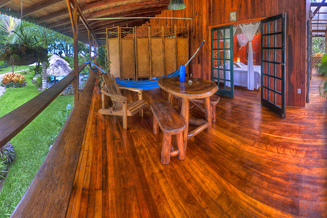 Banana Azul Dolphin Zimmer Terrasse