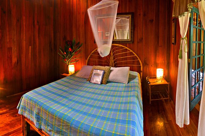 Banana Azul Ocean View Zimmer Doppelbett