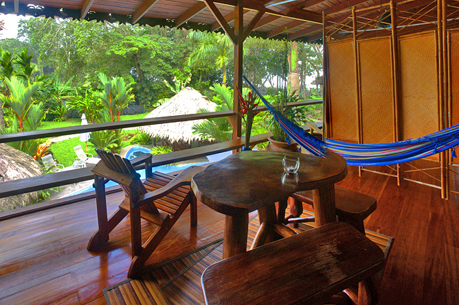 Banana Azul Ocean View Zimmer Terrasse