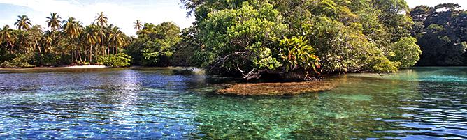Bocas del Toro Admiral Buchten