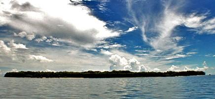 Bocas del Toro_Bastimientos Insel_Aussicht auf vorgelagerte Insel_25-01-2018