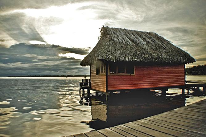 Bocas del Toro Carenero Insel