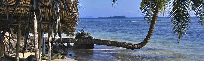 Bocas del Toro Solarte Insel