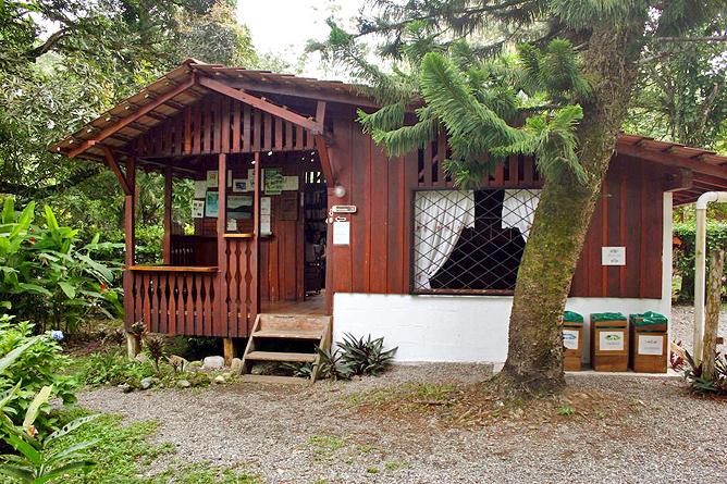Cabinas Iguana Haupthaus