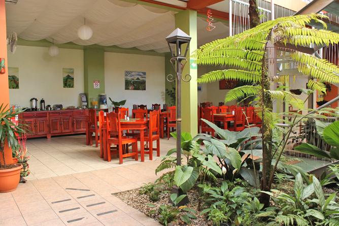 Las Colinas Restaurant Frühstücks Bereich