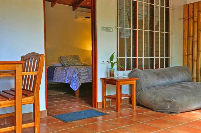 Living Nosara Standard Zimmer Terrasse