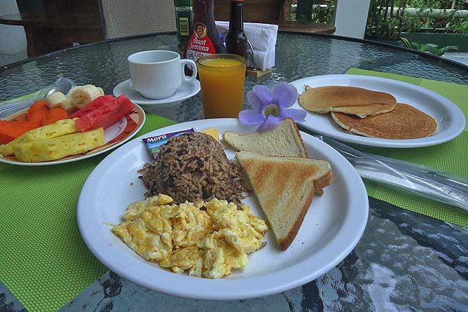 Mandarina Frühstück