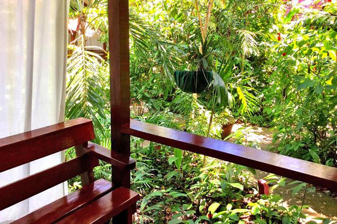 Namuwoki Bungalow Balkon Aussicht