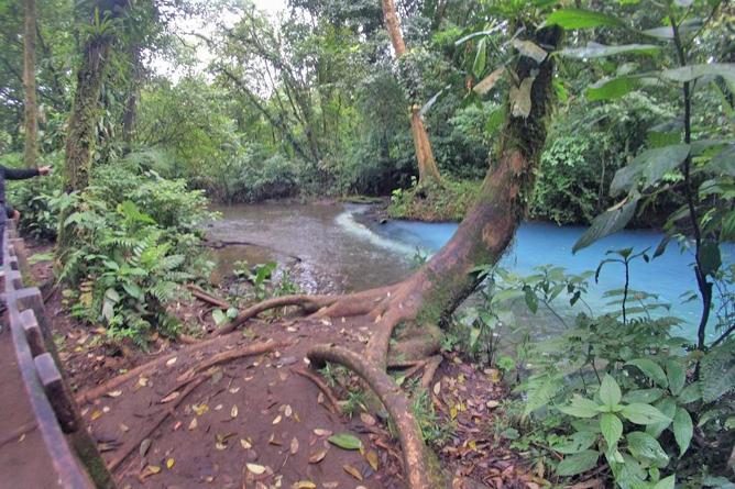 Posada Rio Celeste Wasserfälle
