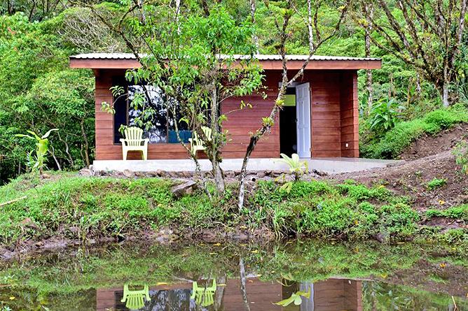 Hotel Quelitales – Bungalow mit Terrasse