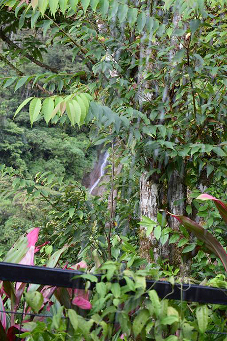 Quelitales Wasserfall Doña Ana