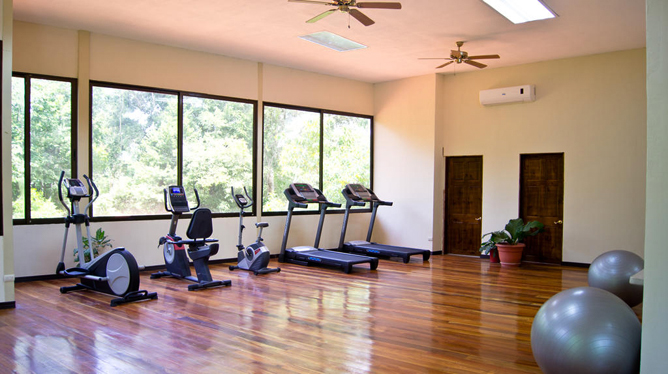 San Bada Fitness Raum