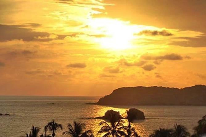 San Bada Sonnenuntergang