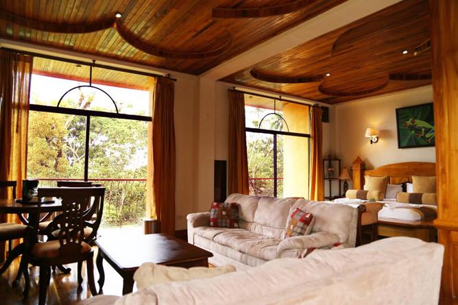 San Bada Suite Wohnbereich