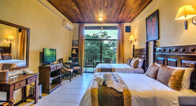 San Bada Superior Zimmer Doppelbetten