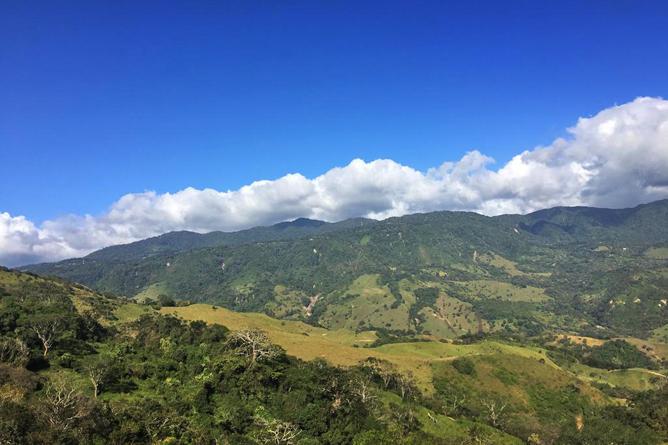 Sunset Hotel Monteverde Landschaft