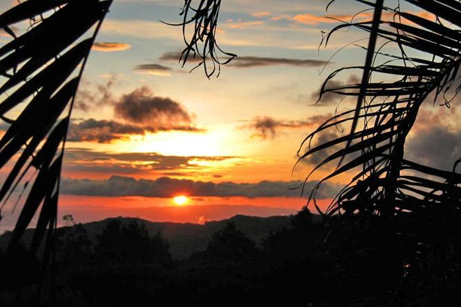 Sunset Hotel Sonnenuntergang Golf von Nicoya