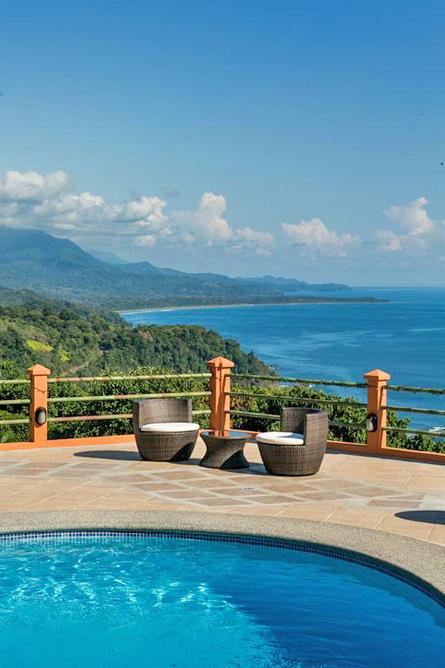 Villas Alturas Pool mit Aussicht Matapalo
