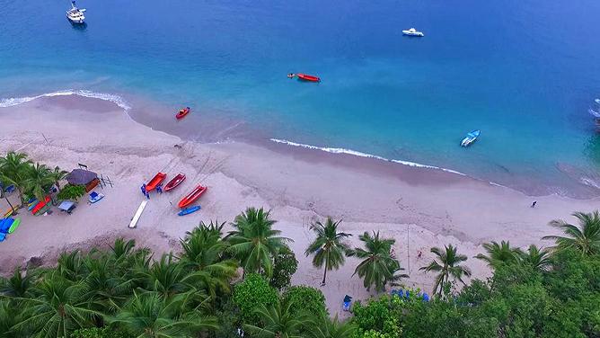 Vista Las Islas Playa Organos